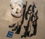 5 guns sks 20 gauge shotgun 357 smith&wesson 38 special ammo