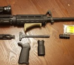 PSA 5.56 Upper with lots of accessories