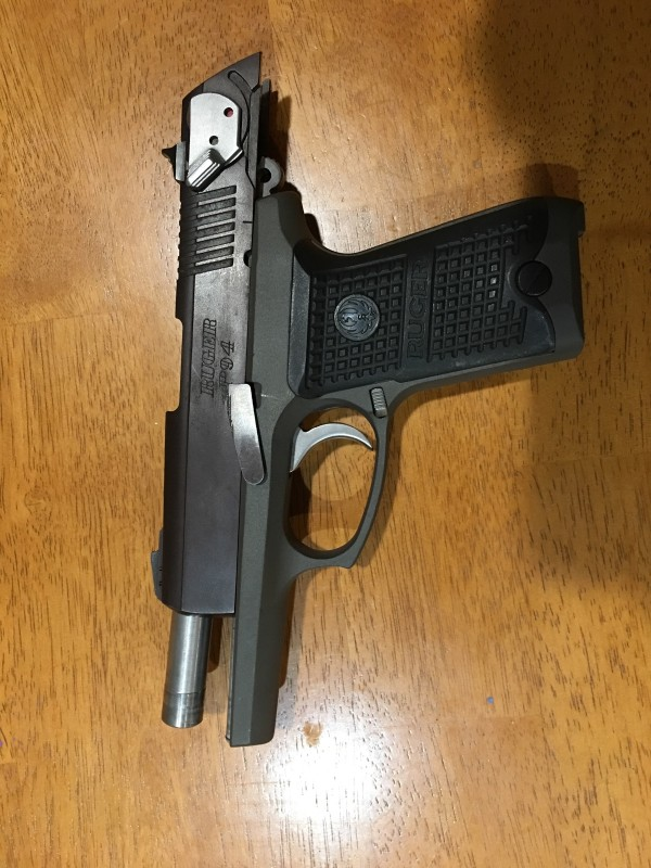 Ruger P94 40 cal