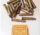Vintage 5.5 mm Velo Dog Revolver Cartridges